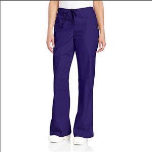 🎀 Women's Flare Leg Natural Scrub Pants NWT